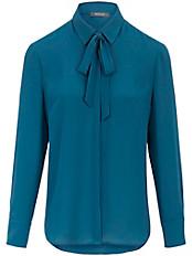 Basler - Bluse mit fixierter Schluppe und längerer Form