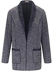 Basler - Jersey-Blazer mit einem Häkchen-Verschluß