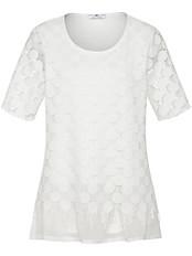 Rundhals-Shirt mit 1/2-Arm von Emilia Lay