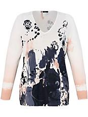 FRAPP - Pullover mit V-Ausschnitt