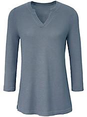 Peter Hahn - Pullover mit 3/4-Arm aus 100% Baumwolle