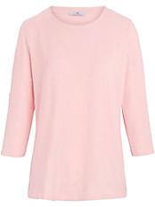 Peter Hahn - Rundhals-Shirt mit Riegel am 3/4-Arm