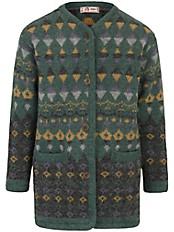 SAGA - Jacke in fein gemustertem Ethno-Jacquard