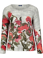 Samoon - Pullover mit faszinierendem Floral-Print