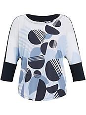 Samoon - Rundhals-Shirt mit 3/4 Arm