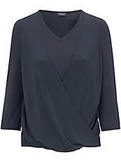 Samoon - Shirt in kaschierender Wickel-Optik