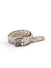 Uta Raasch - Flechtgürtel aus Lederbändern