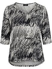 Via Appia Due - Shirt mit angesagtem Black&White print