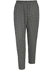 zizzi - Hose mit All-over Muster
