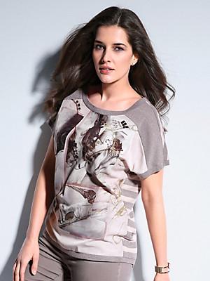 Samoon - Rundhals-Shirt